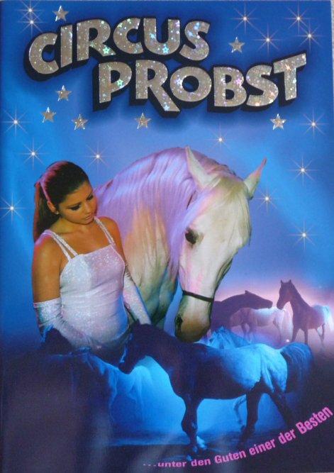 A vendre / On sale / Zu verkaufen / En venta / для продажи :  Programme Circus PROBST 2007