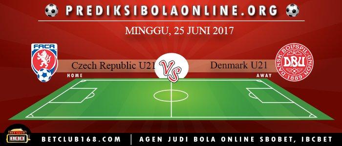 Prediksi Czech Republic U21 Vs Denmark U21 25 Juni 2017