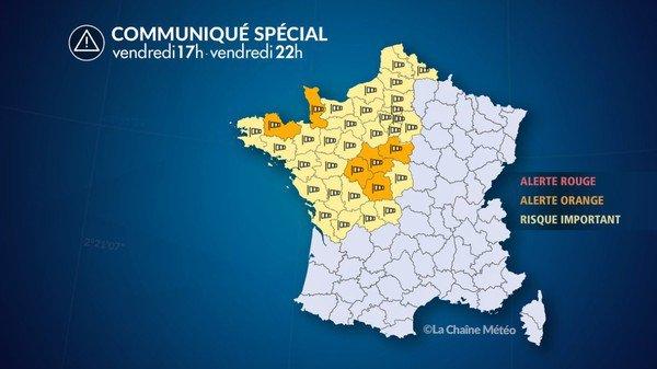 La tempête Miguel s'approche de la Belgique: alerte jaune de l'IRM ...