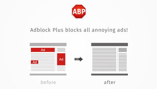 Adblock Plus - Surfez sans désagrément !