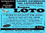 Annonce 'Loto dim. 1er fév. à St-Germain-De-Lusignan.'