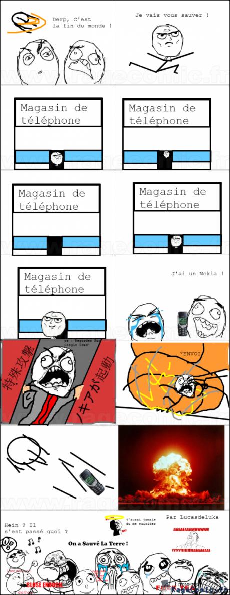 louée soit le saint Nokia 3310