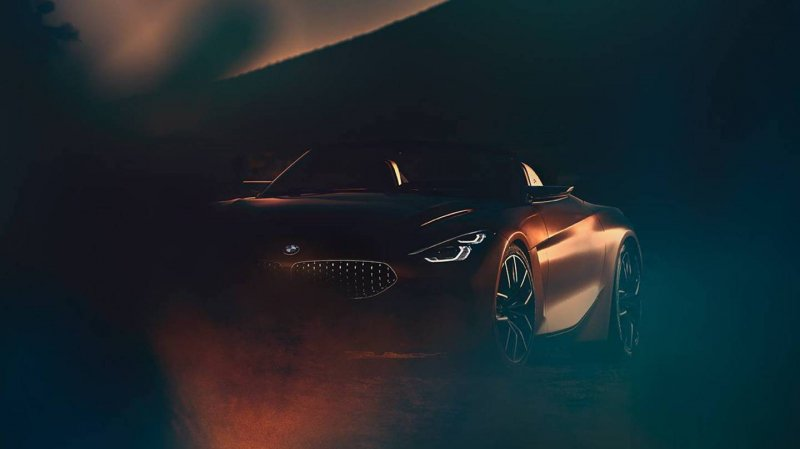 BMW Z4 to be previewed by a sexy concept Pebble Beach concourse