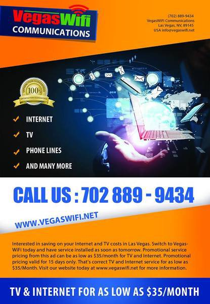 Vegas Wifi Communications - Redundant Wireless Circuits Las Vegas | ask.fm/vegaswificommunications