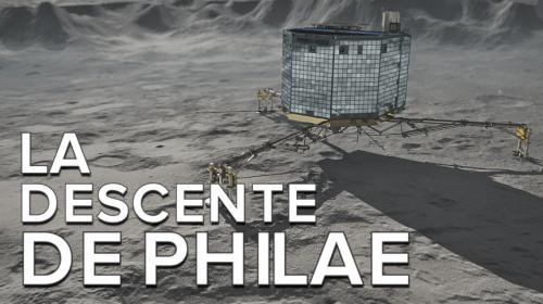 La descente de Philae sur Tchouri capturée en vidéo
