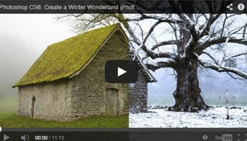 Photoshop Tutorials- How to create a Winter Effect on Your Photographs