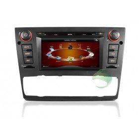 Auto DVD Player GPS Navigationssystem für BMW E91 3 Series(2005 2006 2007 2008 2009 2010 2011 2012) Touring (automatische Klimaanlage+beizbarer Sitz)