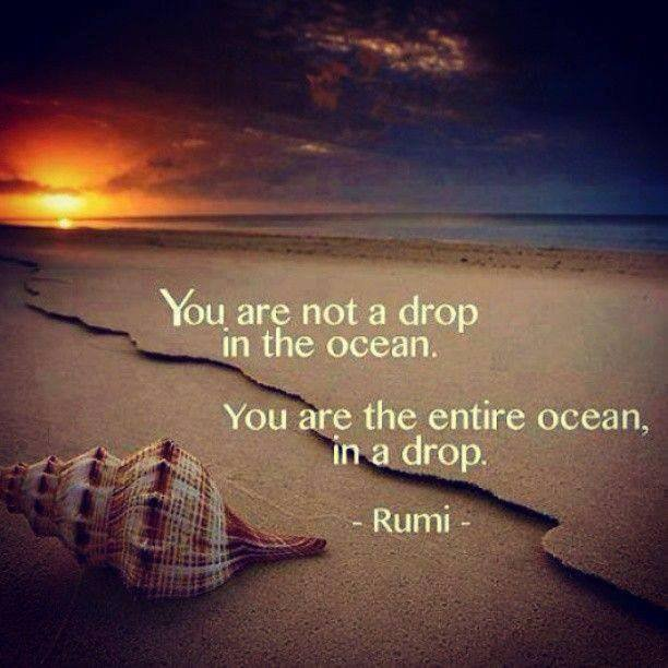 A DROP or OCEAN....who bothers....!!!
