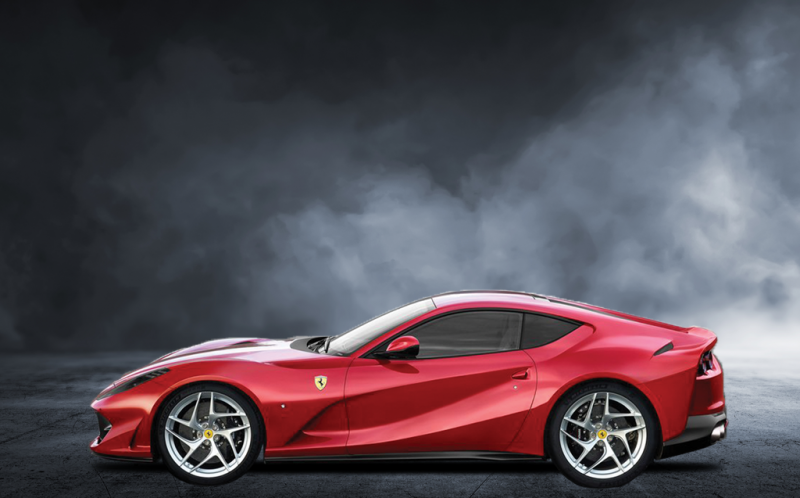 Ferrari 812 Superfast for this year's Geneva Motor Show
