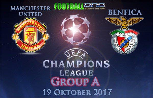 Prediksi BENFICA vs MANCHESTER UNITED 19 Oktober 2017