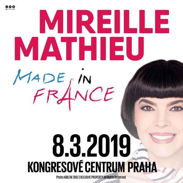 MIREILLE MATHIEU - MADE IN FRANCE TOUR 2019 (8. 3. 2019) - iDNES Ticket