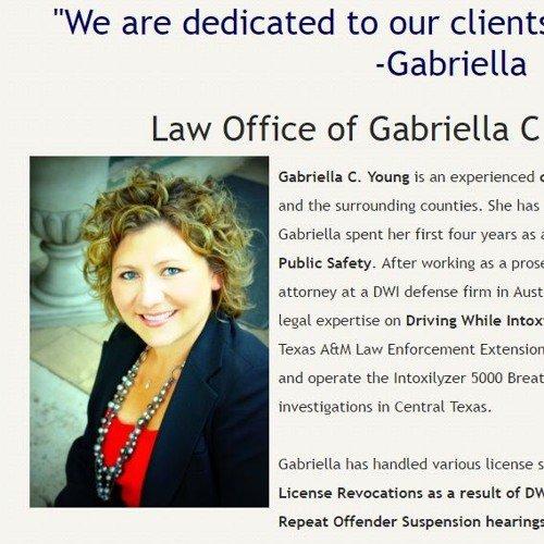 Gabriella Young - Austin Criminal Lawyer - Affordable lawyer austin