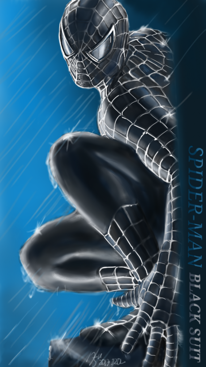 스파이더맨(SPIDER-MAN BLACK SUIT)