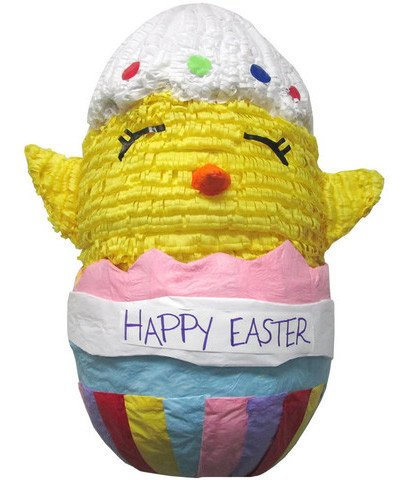 Large Happy Easter Chick Pinata - Signature Line
