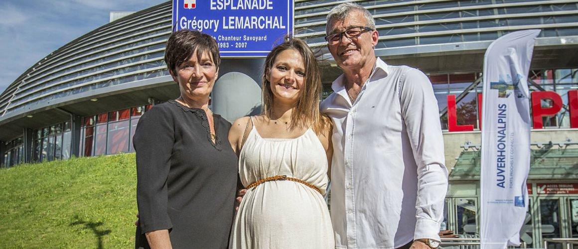 Leslie, la soeur de Grégory Lemarchal, est enceinte