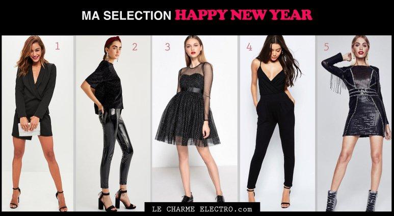 Blog - ma sélection des plus belles tenues pour le Jour de l'An - Le Charme Electro.com