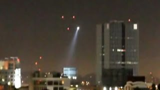 UFO Sightings LAPD Police Helicopter Surveys UFOs! Shocking Video Watch Now! July 12 2012