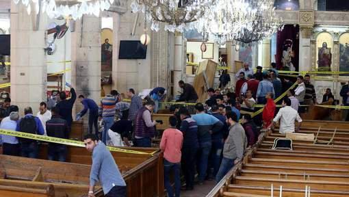 Une nouvelle explosion a eu lieu près d'une église en Egypte, cette fois à Alexandrie