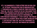 Chanson d'amour triste (rap 2011) + paroles .