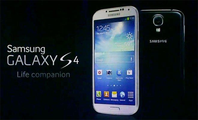 le samsung galaxy s4