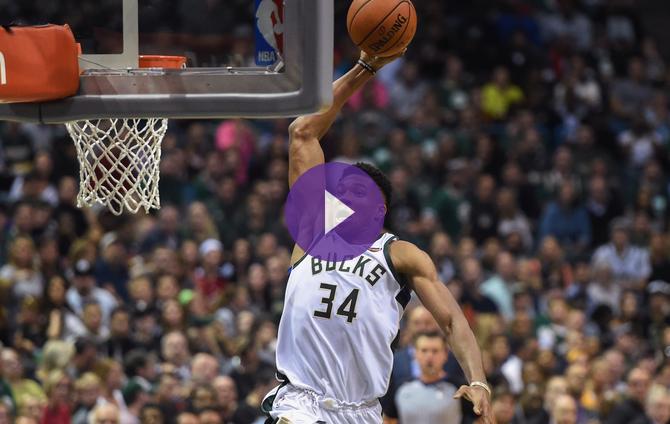 NBA - Les plus gros dunks de 2017 !