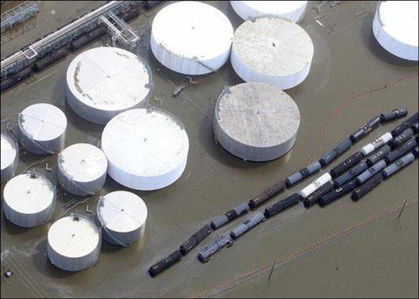 Hurricane Isaac Destruction An aerial view | Mai Jaha Jata Hoon Chha Jata Hoon
