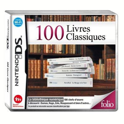 100 livres classiques sur nintendo dsdsitmdsitmxl à 19.49 € au lieu de 29.99 € - Boutique Les Aubaines