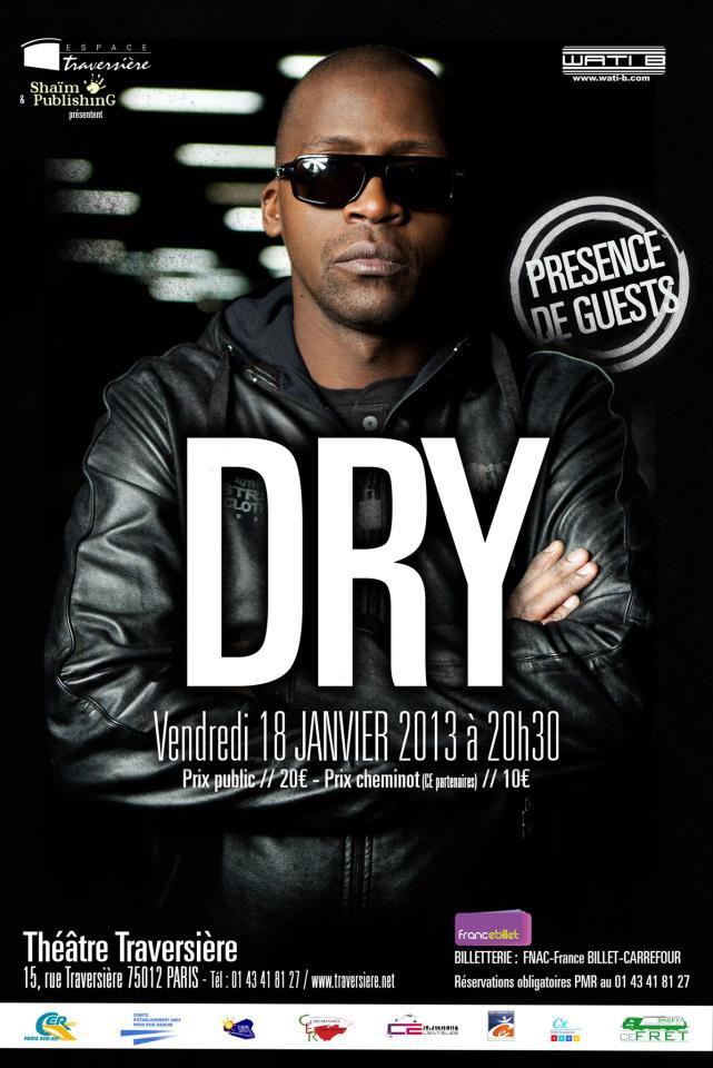 DRY - CONCERT LE 18 JANVIER 2013 - WATI B