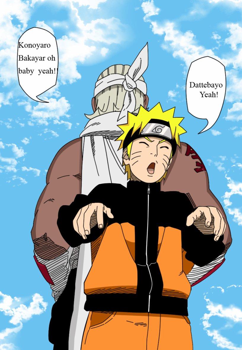 Yo je suis Naruto le chaud