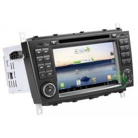 Android 4.0 Auto DVD Player GPS Navigationssystem für Mercedes-Benz C-Klasse W203(2004 2005 2006 2007)