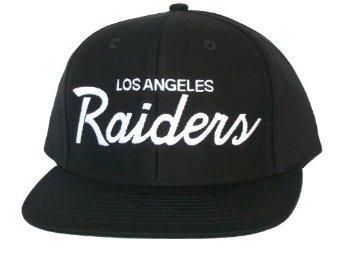 Casquette Los Angeles LA Raiders - Snapback Officielle NFL - Casquette Noire: Amazon.fr: Sports et Loisirs