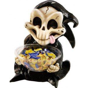 Squelette Candy Bowl Holder Grim Reaper 50 cm