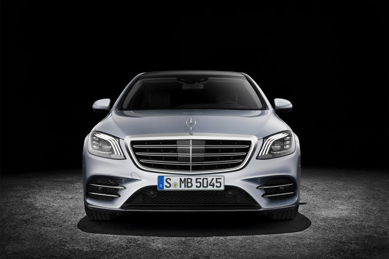 Nothing can beat Mercedes S-Class in technology