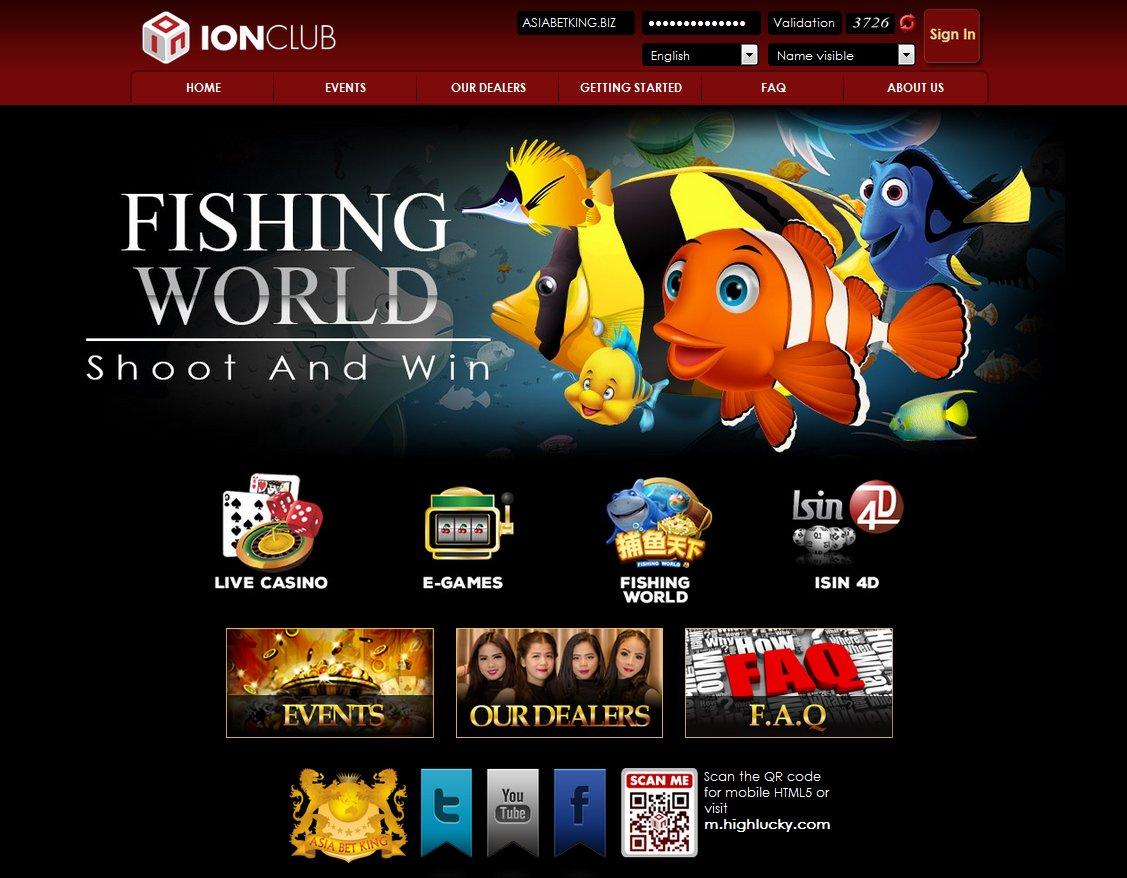 Situs Agen Tembak Ikan Fishing World IONCASINO Terpercaya