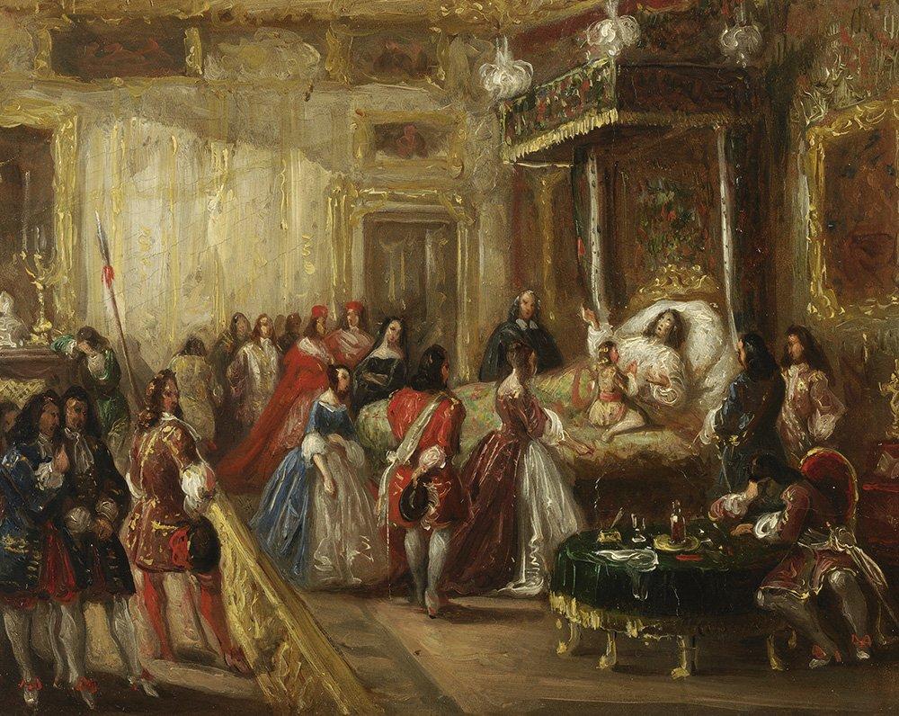 Versailles - La mort du roi