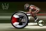 Future Transportation - Zero-emission Monobike by Ilia Vostrov