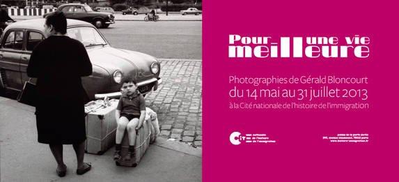 Pour une vie meilleure, photographies de Gérald Bloncourt | Cité nationale de l'histoire de l'immigration