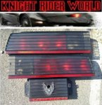 PONTIAC FIREBIRD KNIGHT RIDER TAIL LIGHT SUPERCAR KITT