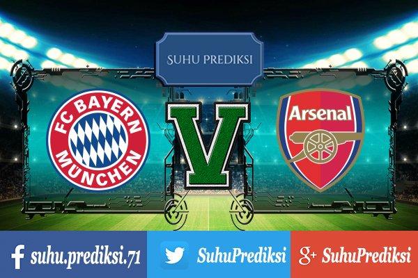 Prediksi Bola Bayern Munchen Vs Arsenal 19 Juli 2017