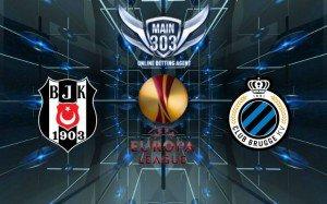 Prediksi Besiktas vs Club Brugge 20 Maret 2015 UEFA Europa L