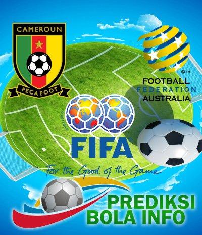 Prediksi Kamerun Vs Australia 22 Juni 2017