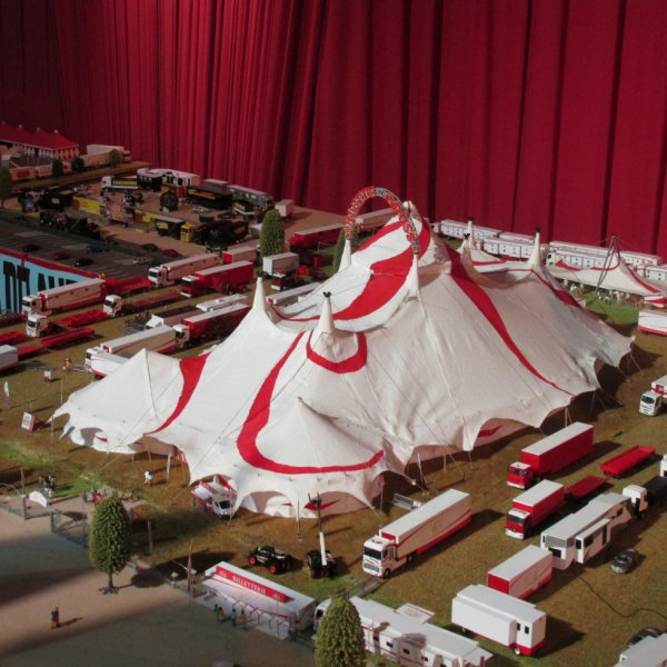 salon de la maquette de cirque 2016 le cirque arlette gruss
