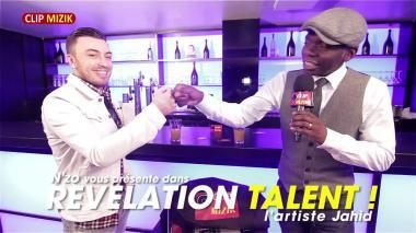 Jahid dans l'émission Révélation Talent ! animée par N'zo