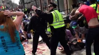 Double explosion au marathon de Boston, au moins trois morts