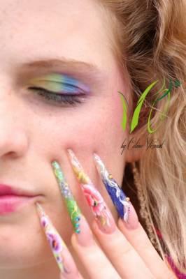 shooting photo pour le salon Nature d'ongles - Pose faux ongles, manucure Brignoles Var - NATURE D'ONGLES