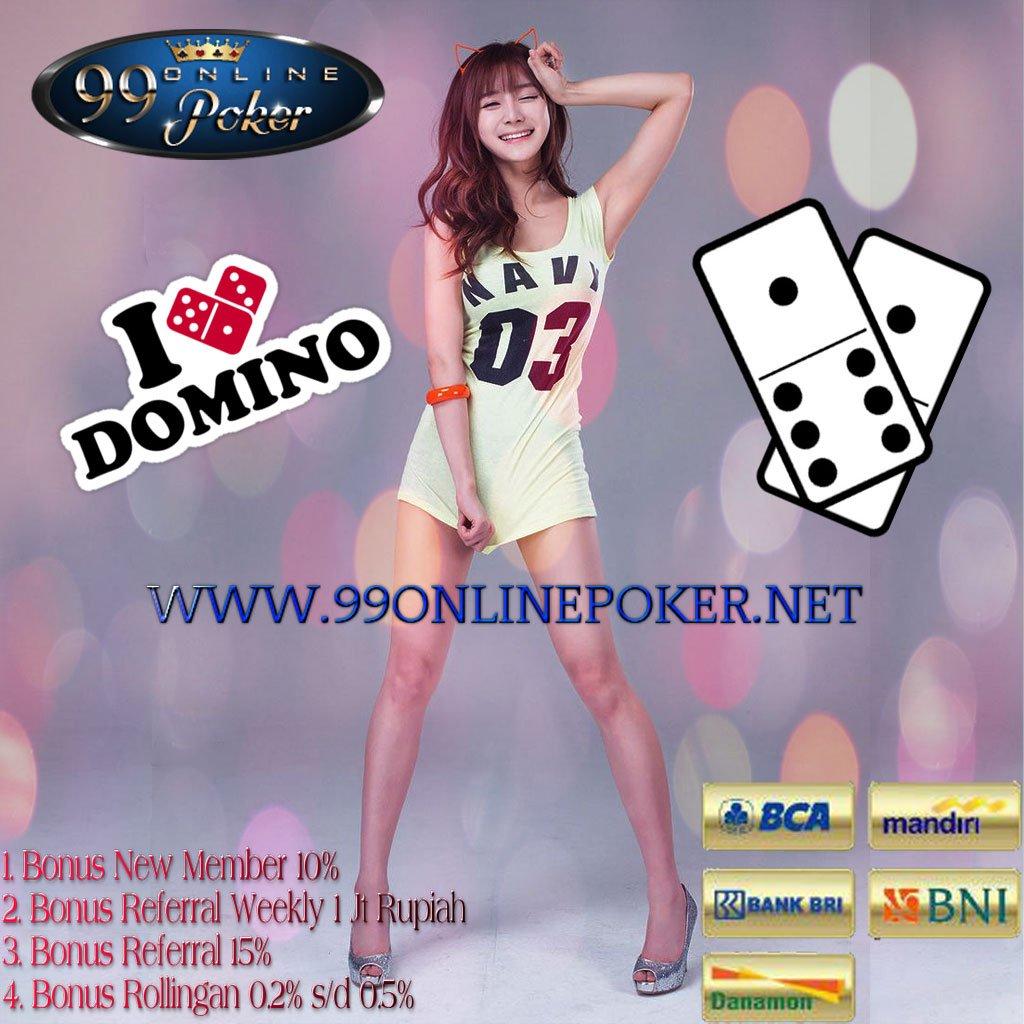 Situs Judi Tempat Bermain Domino 99