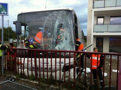 Second accident d'autocar en trois jours