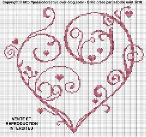 Articles de crochet tricot broderie tagg s broderie - Point de croix grille gratuite a imprimer ...