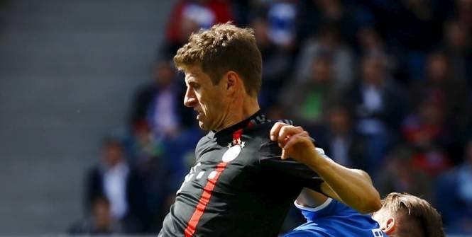 Une offre de 82 millions d'euros de MU pour Thomas Müller?