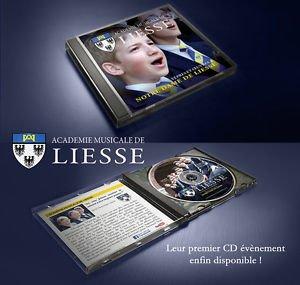 VÊPRES ET OEUVRES A NOTRE DAME DE LIESSE - CD - Manécanterie Aisne